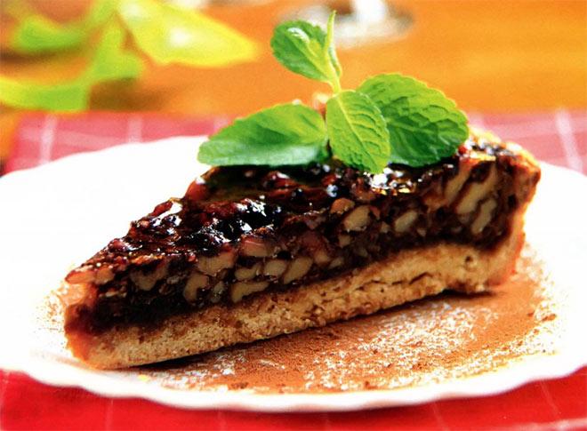 Рецепт Карамельно ореховый пирог