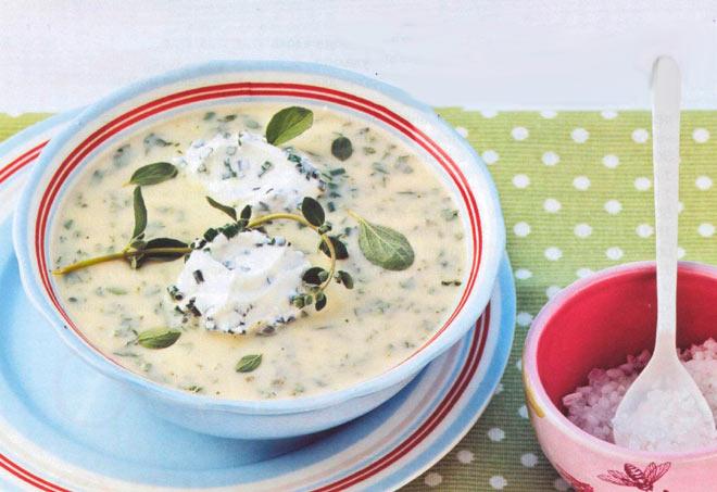 Рецепт Холодный суп пюре картофельный