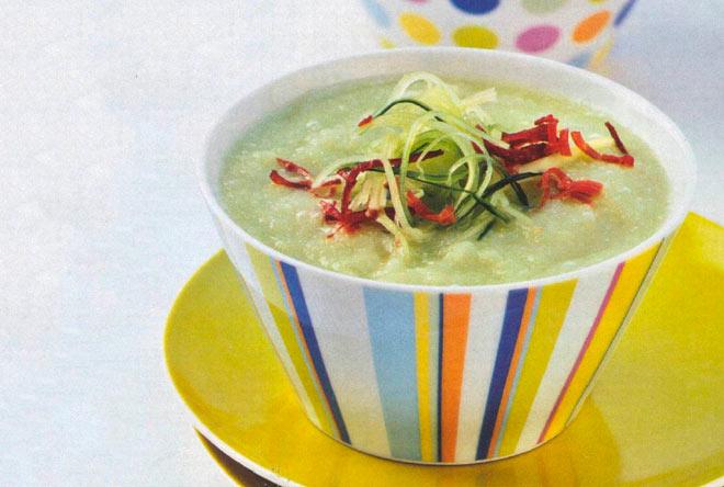 Рецепт Холодный суп из дыни