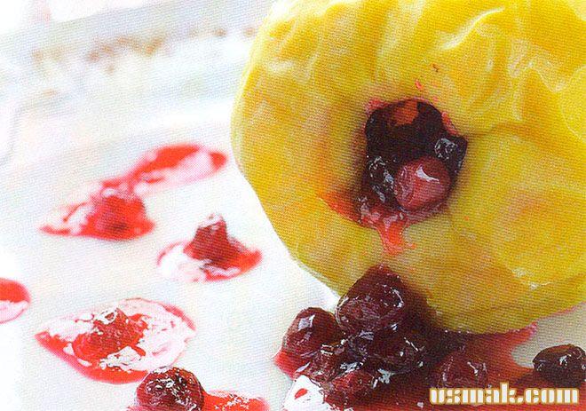 Рецепт Яблоки запеченные в духовке с медом