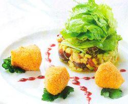 Салат со слабосоленой рыбой рецепт с фото
