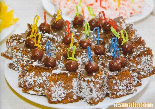 Рецепт Торт пьяная вишня в шоколаде