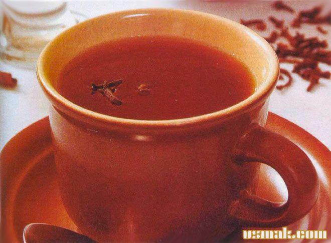 Рецепт Домашний глинтвейн чайный