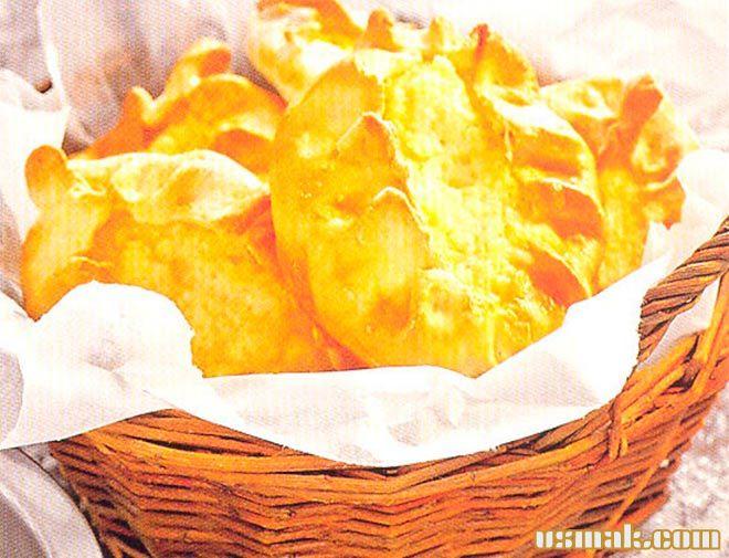 Рецепт Карельские калитки с картошкой из ржаной муки
