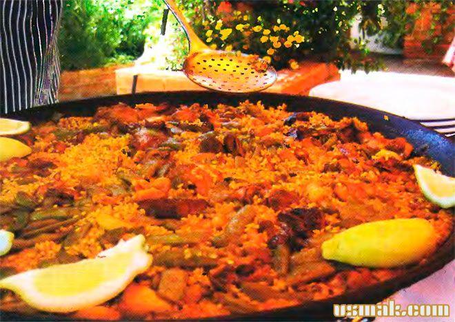 Рецепт Испанская паэлья с курицей
