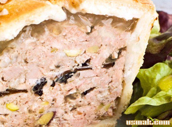 Рецепт Мясной рулет из фарша свинины и говядины в тесте