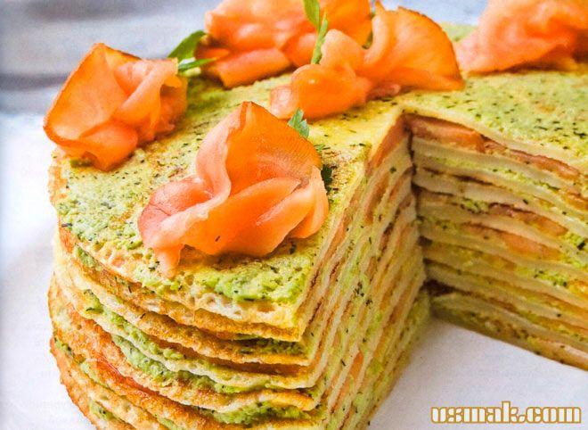 Рецепт Блинчатый торт