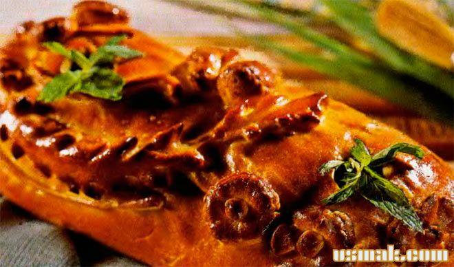 Рецепт Кулебяка с мясом оленины