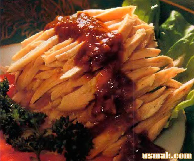 Рецепт Куриное филе в соевом соусе «банбаджи» по китайски