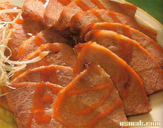 Рецепт Свинина в сладко кислом соусе «чаа шу» по китайски