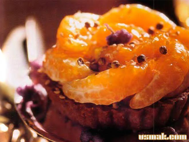 Рецепт Торт с апельсинами