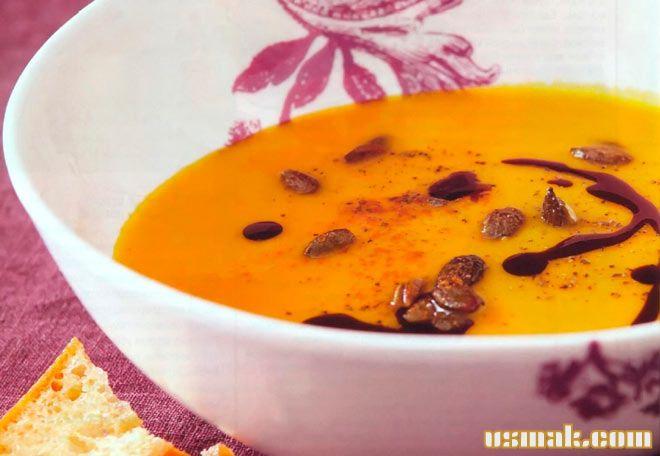 Рецепт Крем суп из тыквы