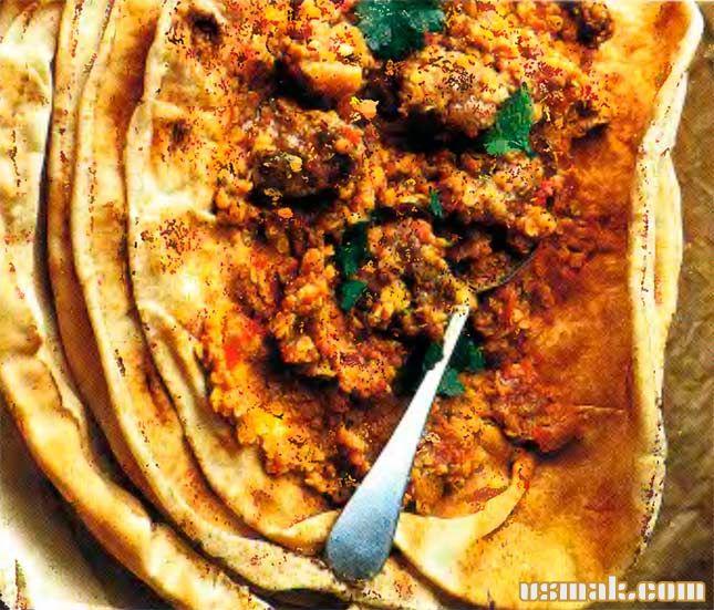 Рецепт Блинчики фаршированные мясом баранины