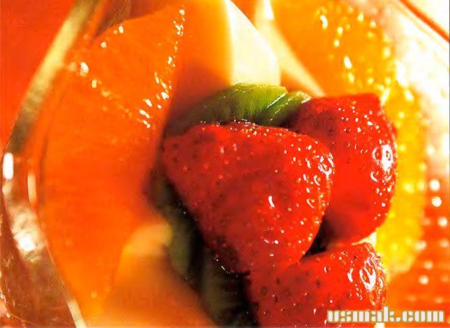 Рецепт салата с ананасом слоями