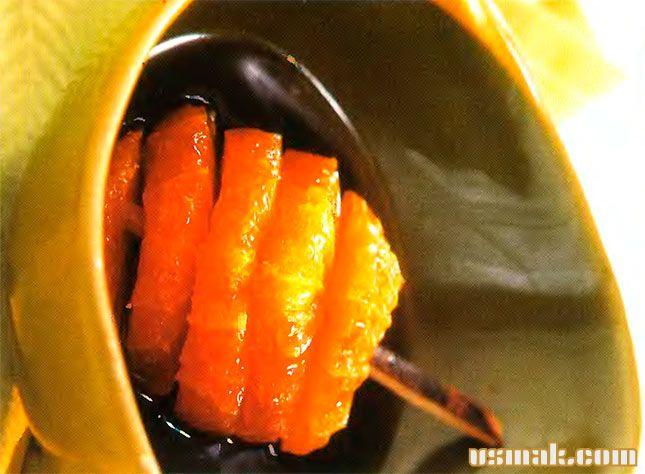 Рецепт Десерт из апельсина