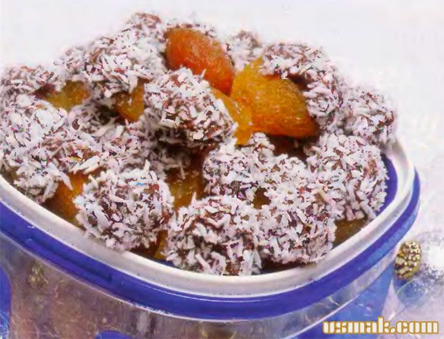 Рецепт Домашние конфеты шоколадные с начинкой и миндальных орехов