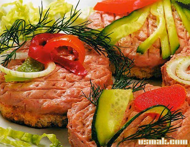 Рецепт Домашний куриный паштет из печени
