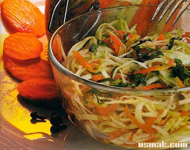 Рецепт Быстро маринованная капуста