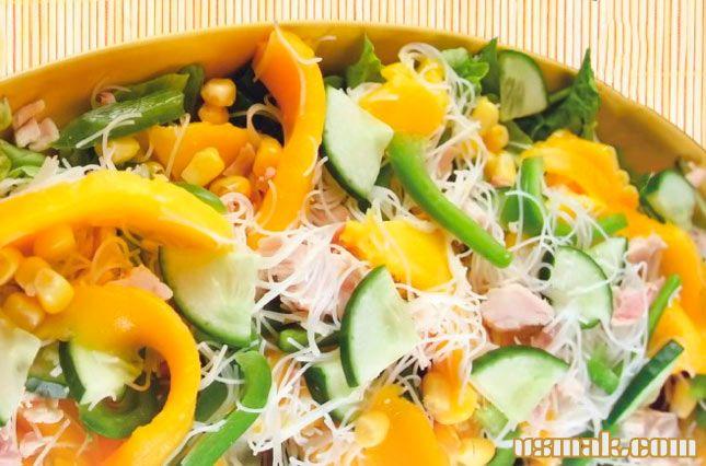 Рецепт Манго салат