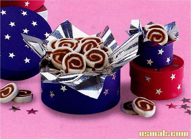 Рецепт Шоколадные сладкие рулетики