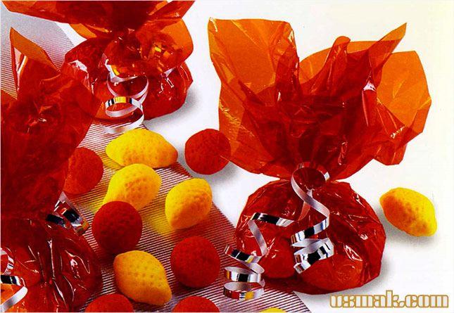 Рецепт Апельсиновые и лимонные конфеты