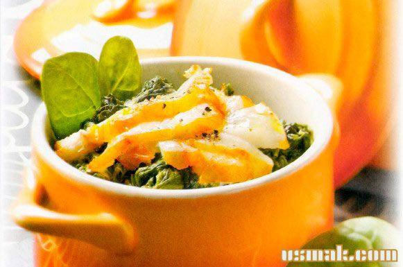 Рецепт Тушенная рыба с овощами
