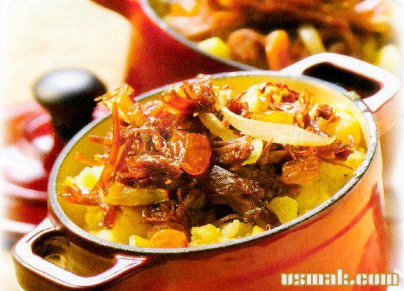 Рецепт Овощи запеченные с мясом утки