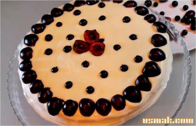 Рецепт Сметанник пирог