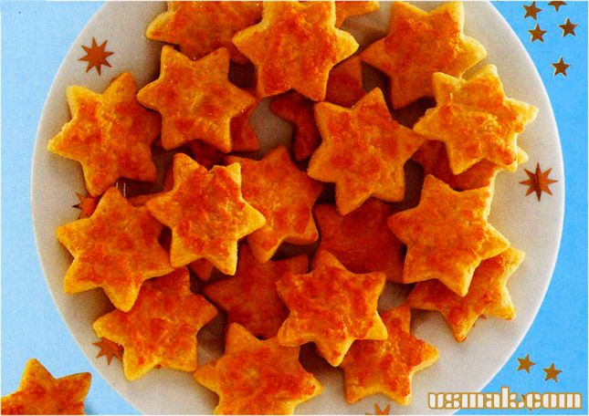Рецепт Печенье звездочки с сыром