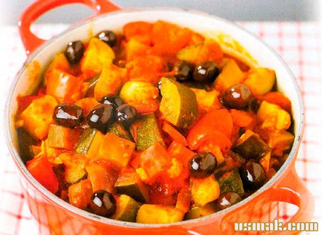Рецепт Французский рататуй в духовке
