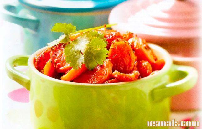 Рецепт Запеченная морковь в духовке