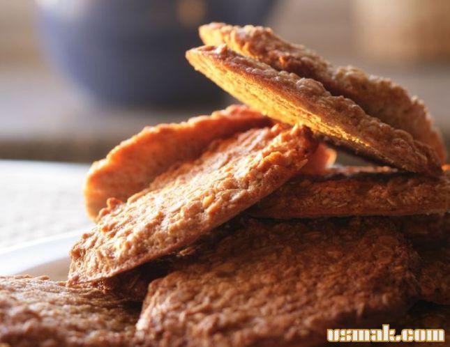 Рецепт Овсяное печенье, завтрак с Юлией Высоцкой