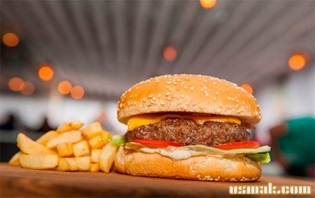 Рецепт Классический американский бургер