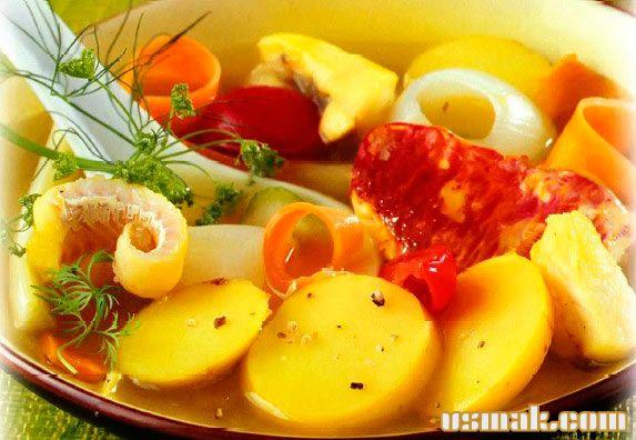 Рецепт Суп буйабес