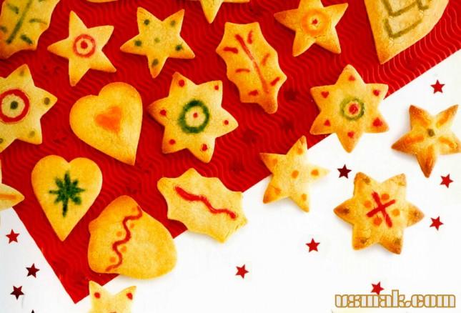 Рецепт Печенье праздничное