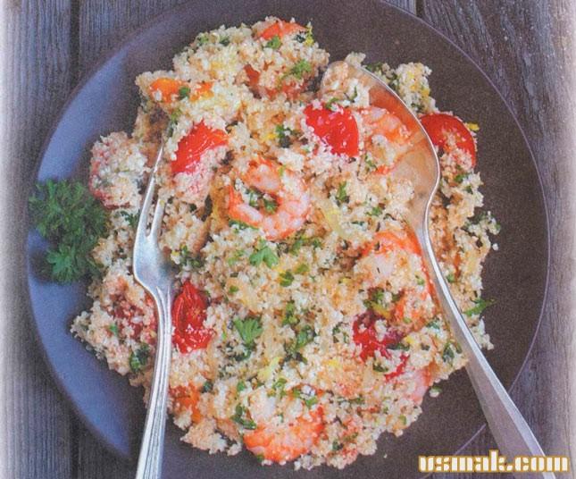 Рецепт Салат с кускусом