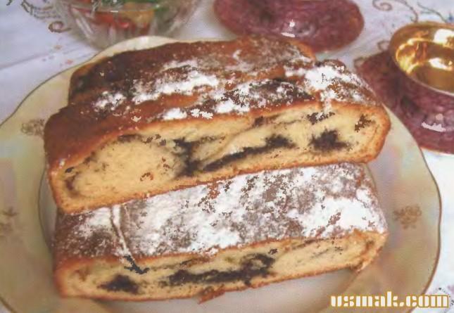 Рецепт Пирог с маком