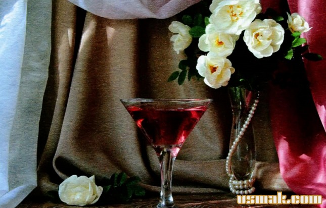 Рецепт Настойка из лепестков роз