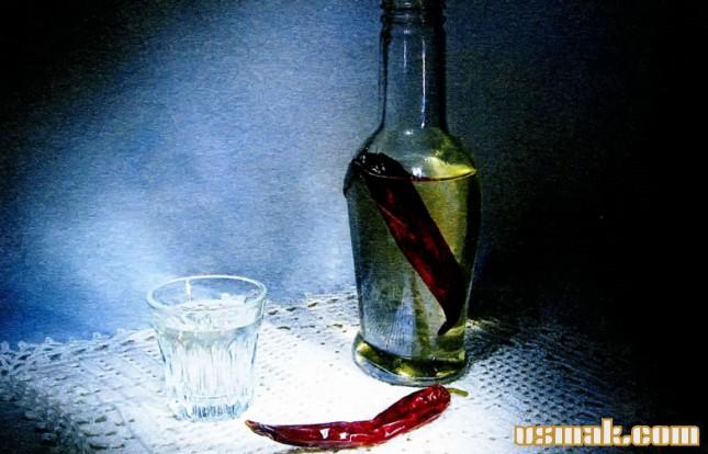 Рецепт Перцовая настойка