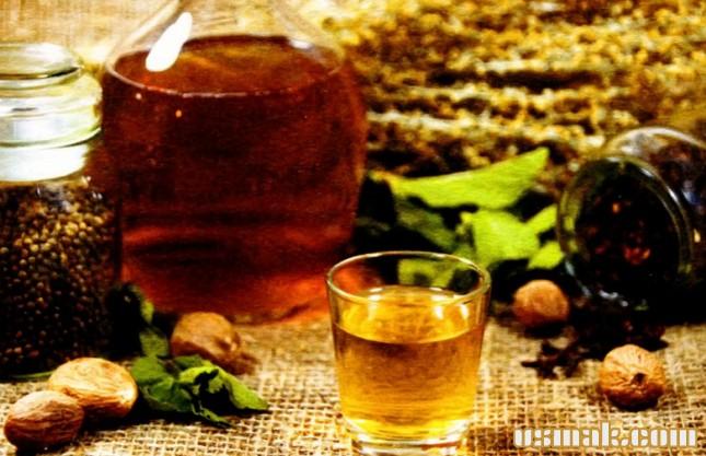 Рецепт Настойка мятная с полынью