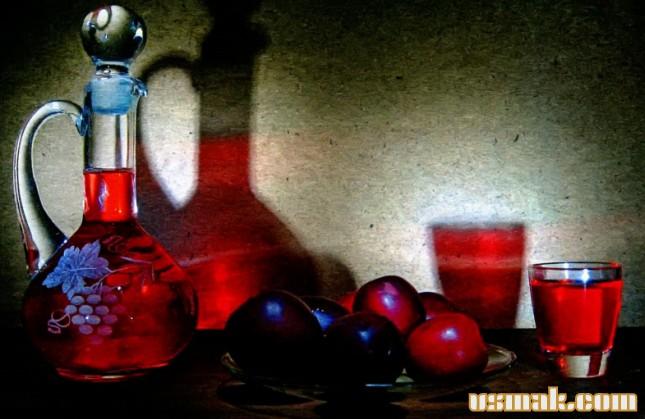 Рецепт Наливка из сливы