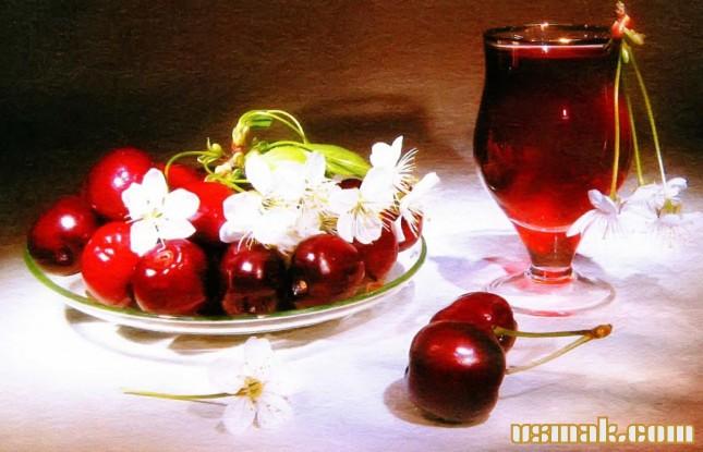 Рецепт Вишневый сок на зиму