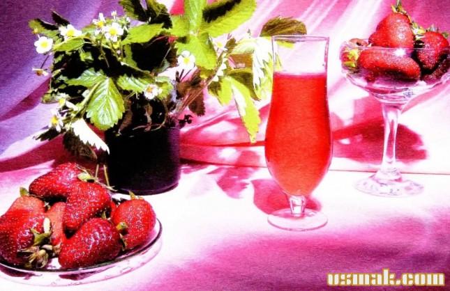Рецепт Клубничный сок