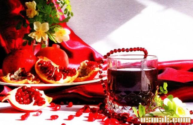 Рецепт Гранатовый сок