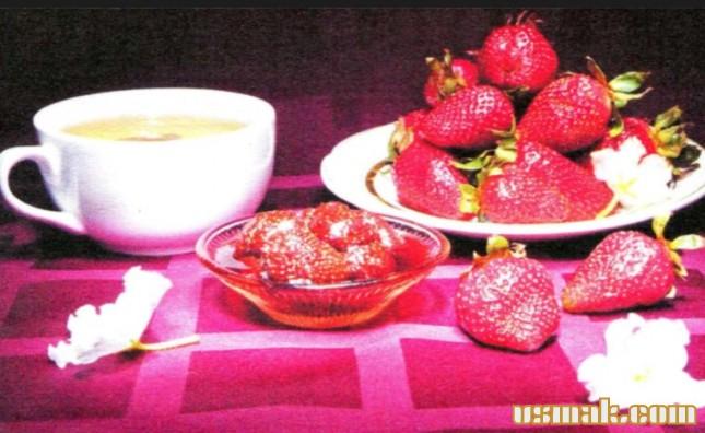 Рецепт Клубничное варенье с целыми ягодами