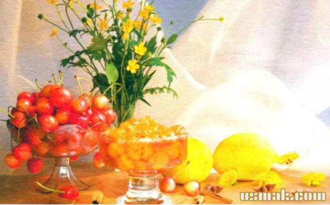 Рецепт Варенье из белой черешни