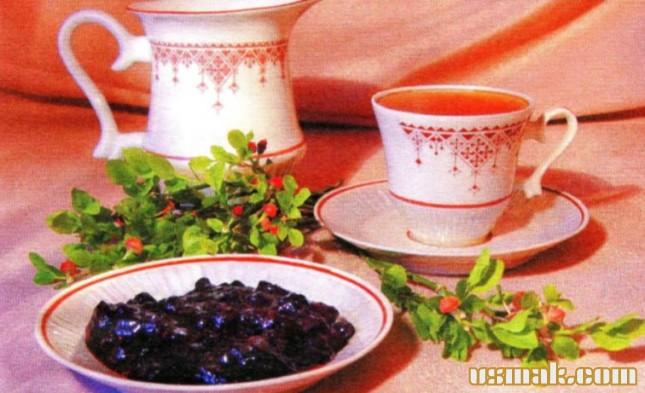 Рецепт Варенье из черники