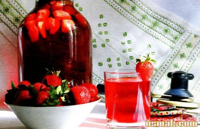 Рецепт Компот из клубники на зиму