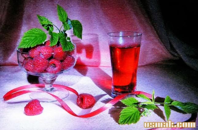 Рецепт Компот из малины на зиму