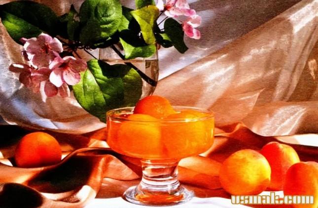 Рецепт Компот на зиму из абрикосов